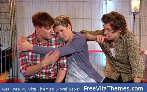 Niall Horan Cuddles PS Vita Wallpaper