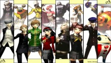 Download Persona 4 full party PS Vita Wallpaper