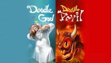 Download DOODLE GOD DEVIL PS Vita Wallpaper