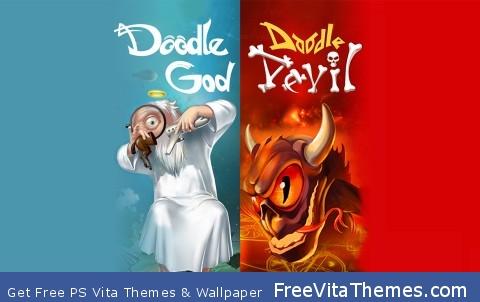 DOODLE GOD DEVIL PS Vita Wallpaper