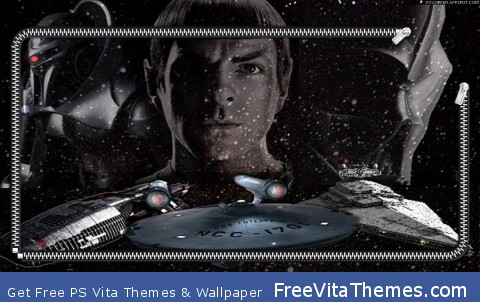 Star Trek / Star Wars / BSG PS Vita Wallpaper