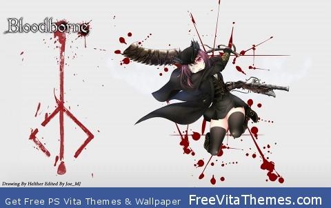 Bloodborne A Hunter is Never Alone PS Vita Wallpaper