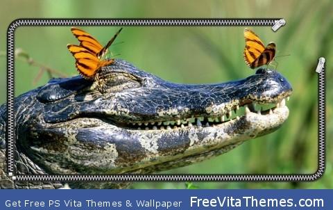 Crocodile Wallpaper PS Vita Wallpaper