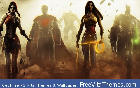 DC comics PS Vita Wallpaper