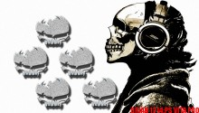 Download Skull theme PS Vita Wallpaper