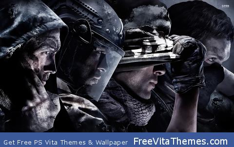 Call of Duty   Ghosts PS Vita Wallpaper