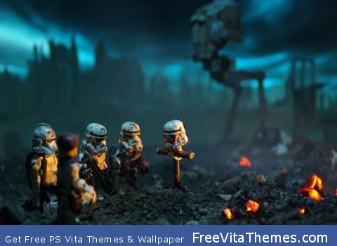 Lego Star War PS Vita Wallpaper